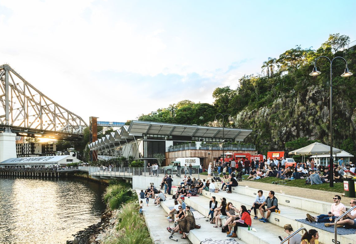 Howard Smith Wharves by HSW Nominees, Urbis and Woods Bagot.