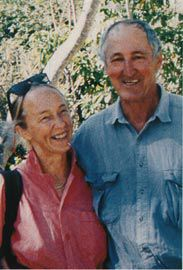 With Brit Andresen, Restoration Island, 1999.