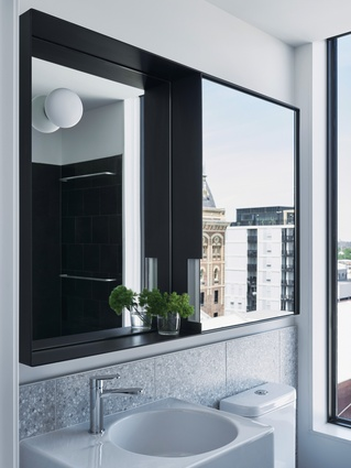 Good access to natural light in all rooms was a priority for the architects.