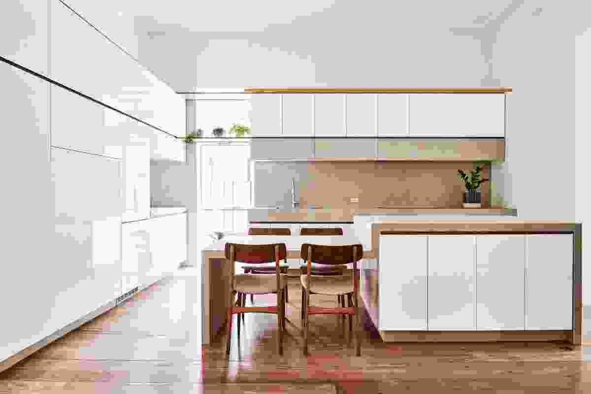 St Kilda Apartment by Dan Gayfer Design.