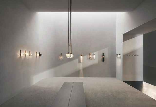Articolo Lighting Milan by Studio Goss.