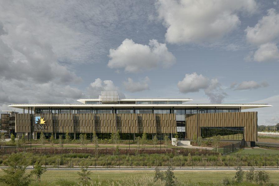 University of the Sunshine Coast Moreton Bay campus foundation building, designed by Hassell.