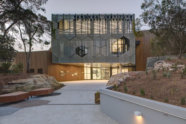 The Taronga Institute of Science and Learning by NBRS Architecture.
