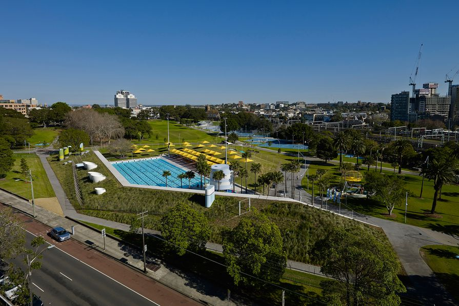 Prince Alfred Park + Pool Upgrade by Neeson Murcutt Architects in association with City of Sydney.