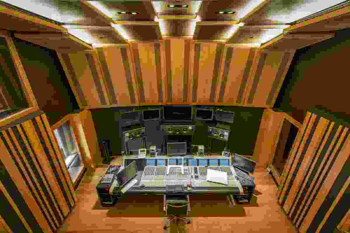 Sydney Opera House Recording Studio by Scott Carver.