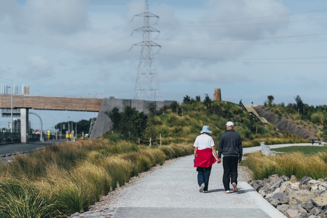Taumanu Reserve by Isthmus Group Ltd, Auckland, New Zealand.