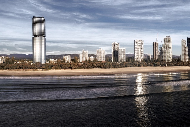 272 Hedges Avenue, Mermaid Beach by BDA Architecture.