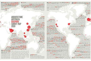 Diaspora map