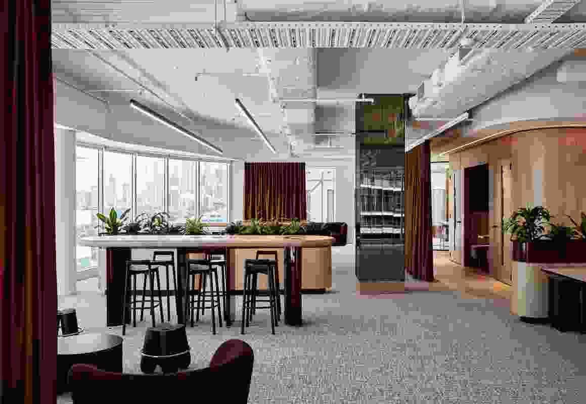 L'Oréal Workplace by Travis Walton Architecture.