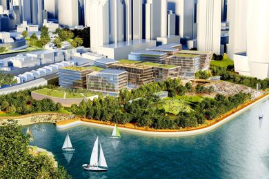 The maximum amount of Central Barangaroo floor space available for development has more than doubled since 2010, when a limit of 59,225 square metres was originally proposed.