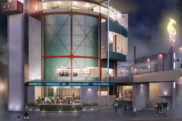 DADA, Launceston by Richard Hill Architect.