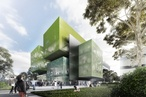 Monash University's Biomedical building takes shape
