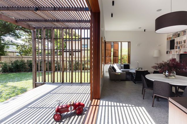 Sung Dobson House by Sam Crawford Architects.