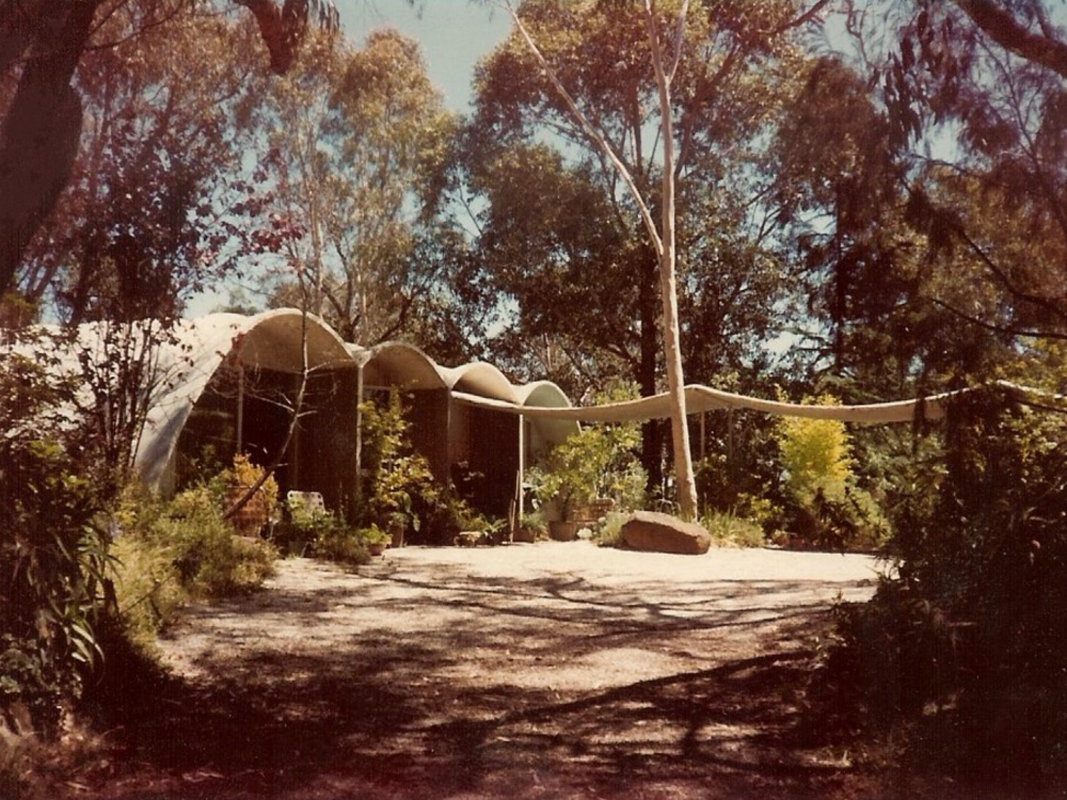 Rice House by Kevin Borland (1952–53).