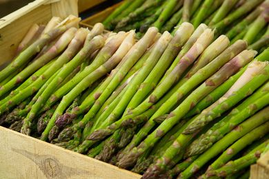 Koo Wee Rup, 60 kilometres to the south east of Melbourne, produces over 90 percent of Australia's asparagus.