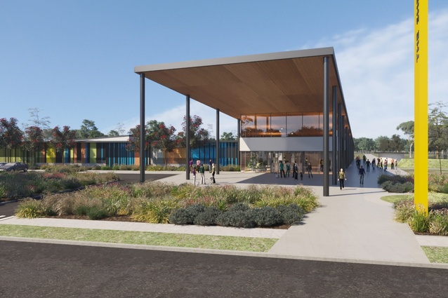 The Blacktown Animal Re-homing Centre by Sam Crawford Architects, Tyrrelstudio and Lymesmith.