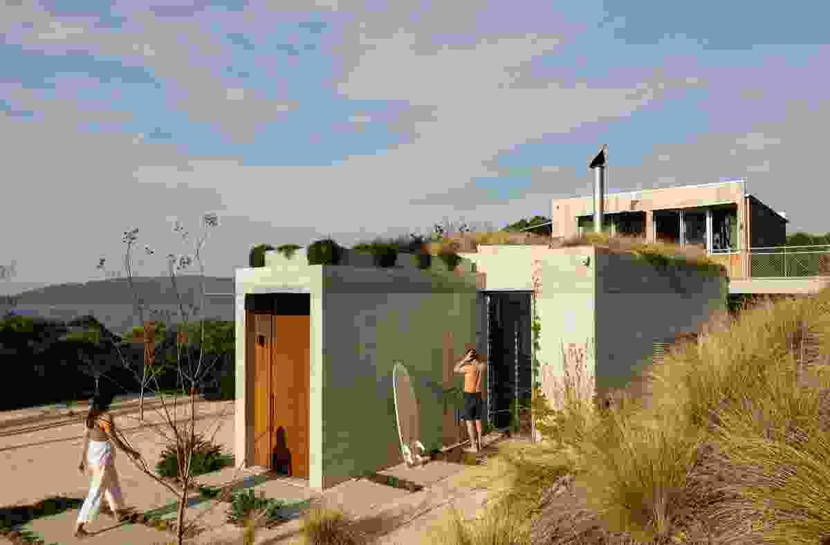 Wallis Lake House by Matthew Woodward Architecture.
