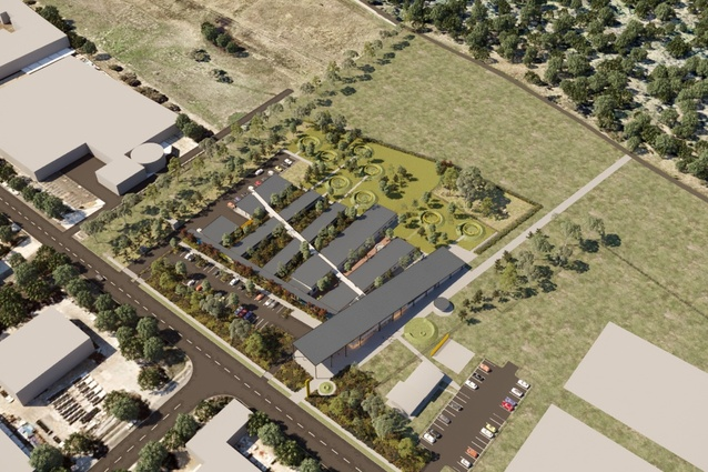 The Blacktown Animal Re-homing Centre by Sam Crawford Architects, Tyrrellstudio and Lymesmith.