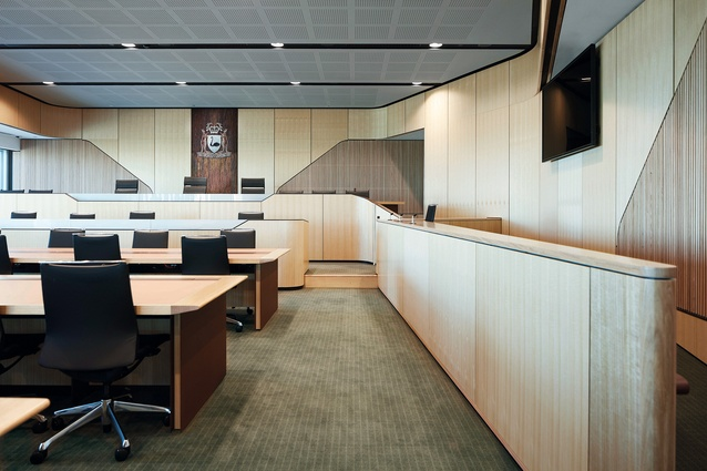 Supreme Court of Western Australia — Peter Hunt Daryl Jackson (Joint Venture) Architects (PHDJ).