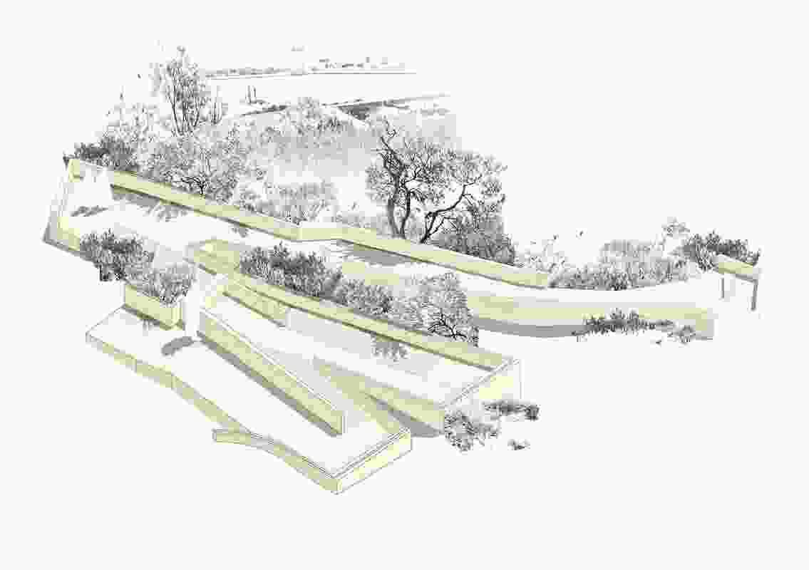 Cantonment Hill Public Park by Jim Riley.