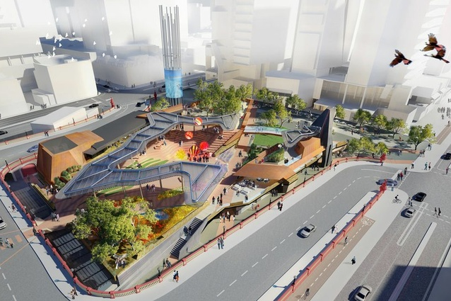 New square to become the centre of a reconnected Perth