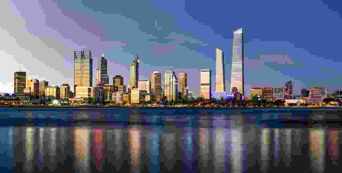 Proposed World Trade Centre Perth by Woods Bagot.