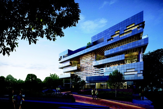 The proposed South Melbourne Primary School by Hayball will be Victoria's first vertical school.