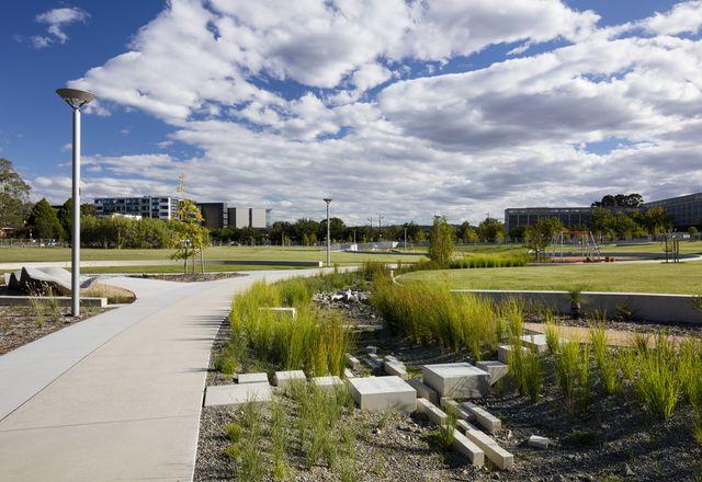 Hassett Park by Jane Irwin Landscape Architecture.