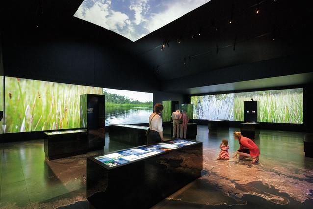 Into the Blue, World Heritage Exhibition – Freeman Ryan Design.