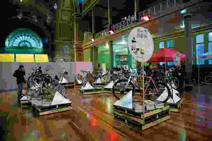 Bikes on display at Made to Measure: Handmade Bike Show.