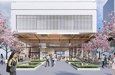 Three towers proposed for Sydney's Waterloo station development