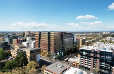 Woods Bagot-designed 'innovation precinct' for Melbourne uni approved