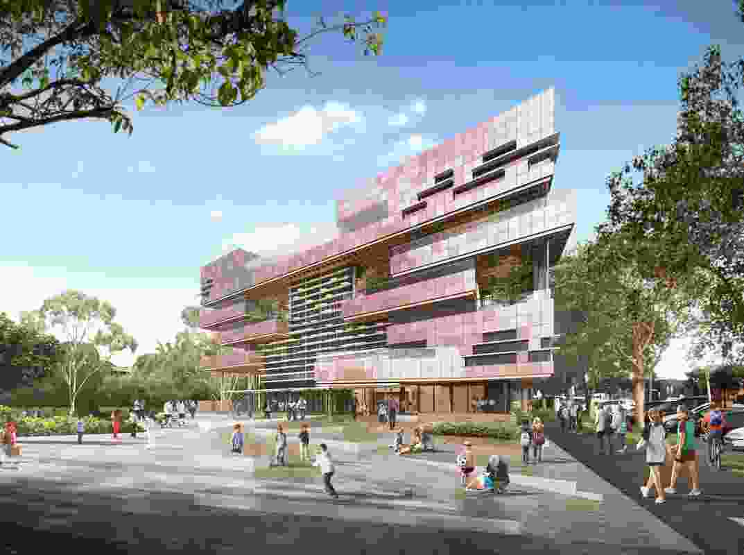 The proposed South Melbourne Primary School by Hayball.