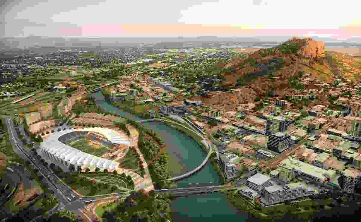 Funding for the North Queensland Stadium project was tied to the federal government's Townsville City Deal. The 2016 competition was won by Cox Architecture and Counterpoint Architecture.