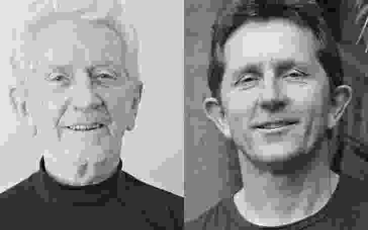 Landscape architects Bruce and Stuart Mackenzie.