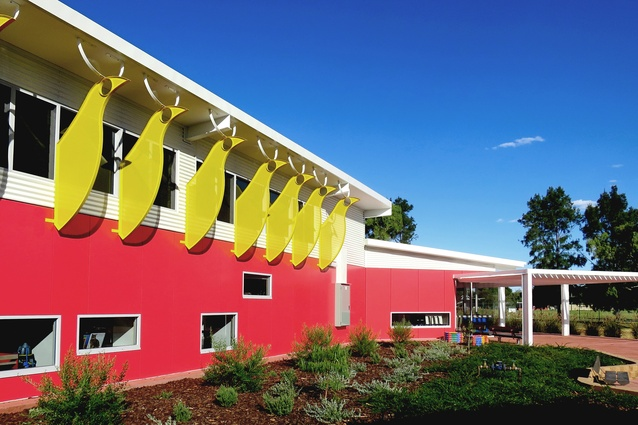 Braitling Preschool by Susan Dugdale and Associates.