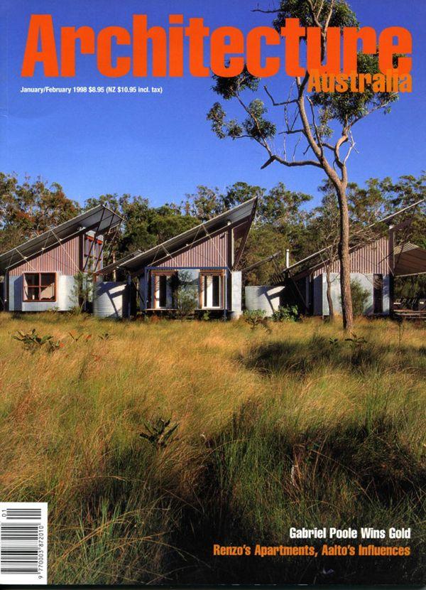 Architecture Australia, January 1998