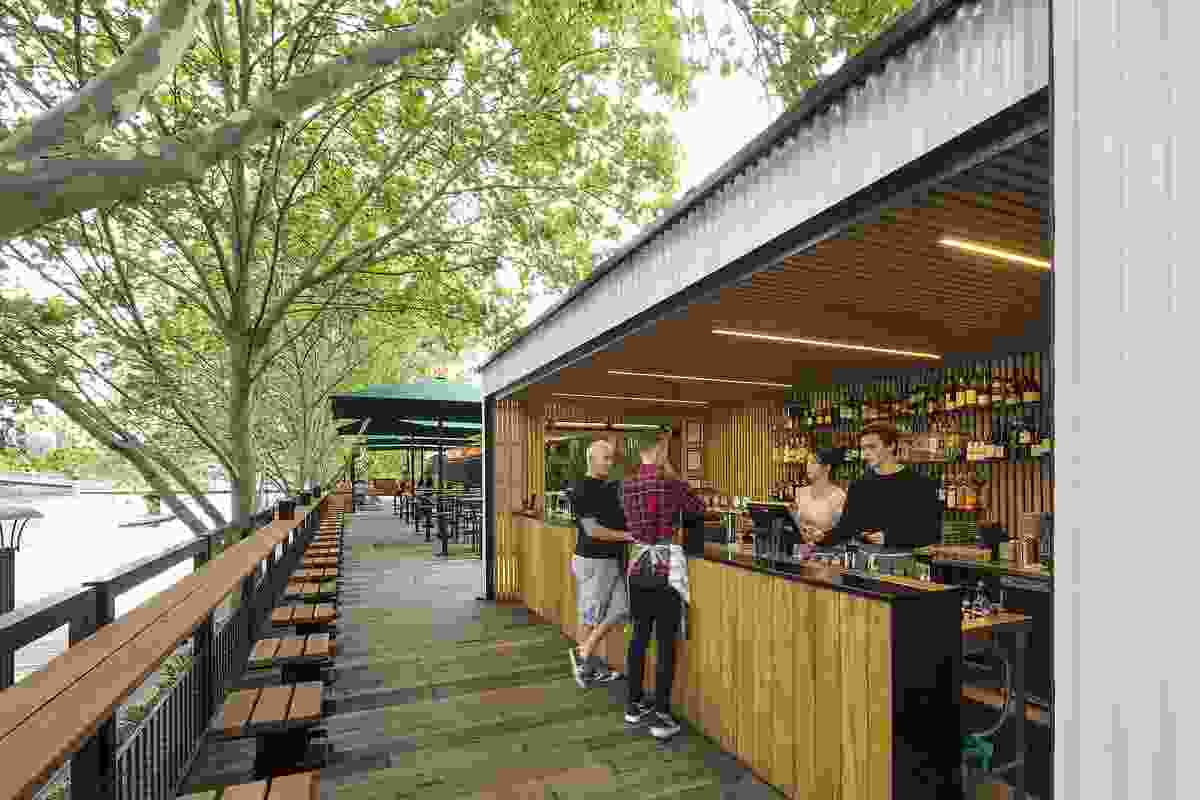 Arbory Bar & Eatery by Jackson Clements Burrows.