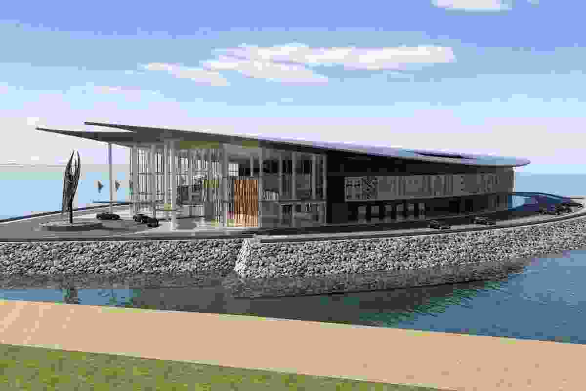 APEC Haus by Jim Fitzpatrick Architects (design architect) and Conrad Gargett (executive architect).