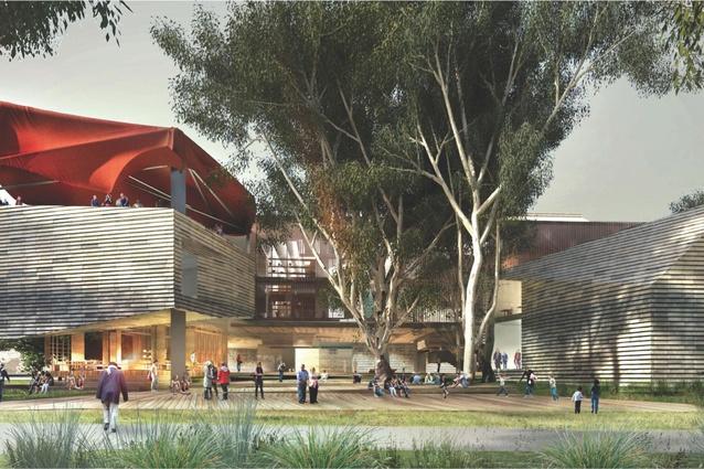 John Wardle Architects' design for the new Shepparton Art Museum.