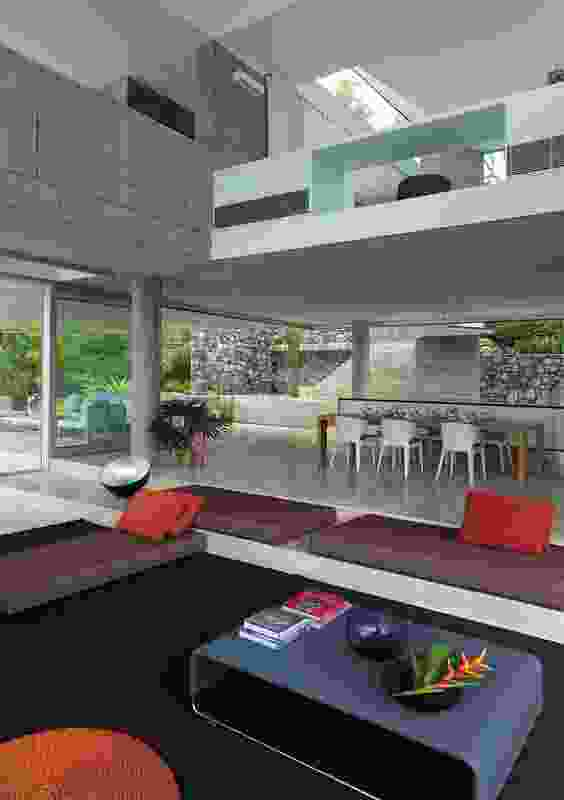 Colour in Residential Design – Solis by Renato D'Ettorre Architects.
