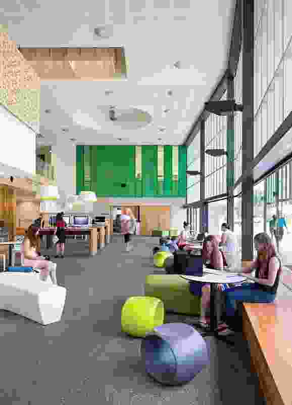 Education Central, James Cook University by Wilson Architects with Architects North.