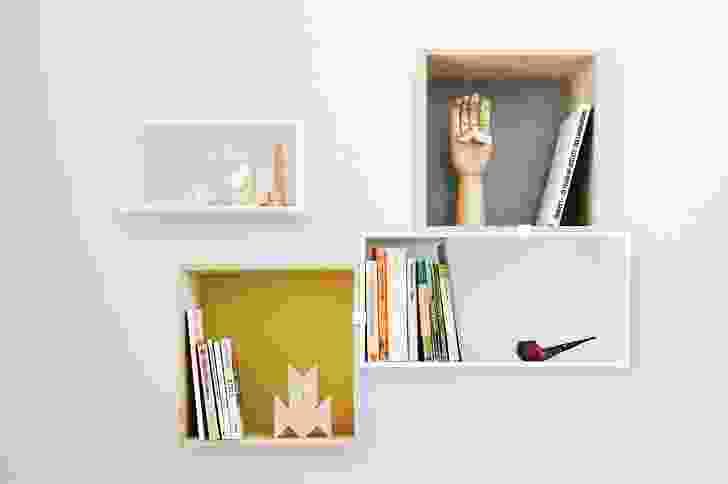 Mini Stacked shelves.