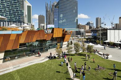 Yagan Square by Aspect Studios, Lyons Architecture and Iredale Pedersen Hook
