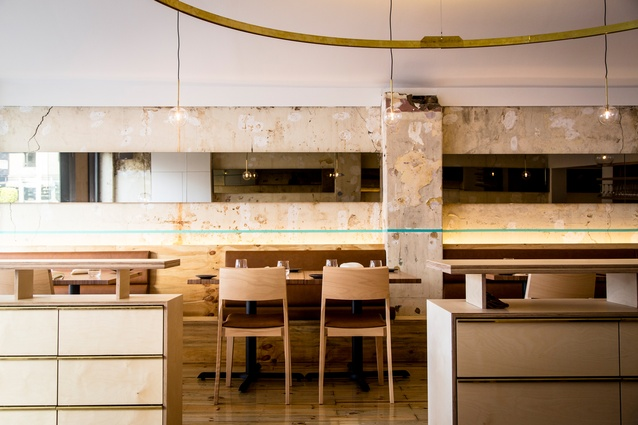 Atlas Dining by GelliKovic Architects.