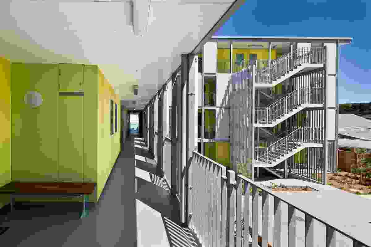 Housing – Multi Unit winner: Marshall Court Apartments for City Housing WCC by Designgroup Stapleton Elliott.