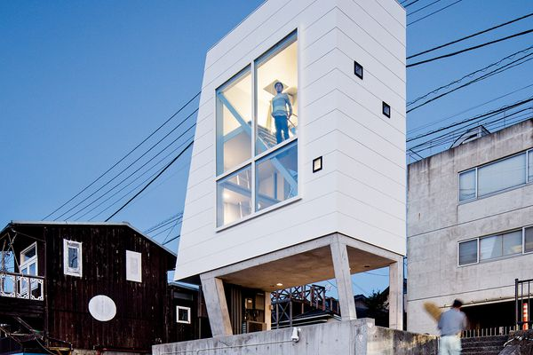 Window House (2013) by Yasutaka Yoshimura Architects.