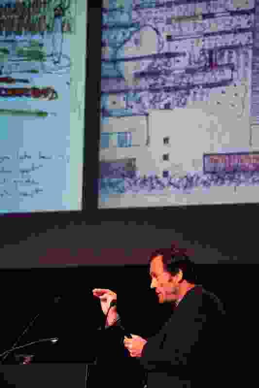 Anton James of JMD Design presents at APSDA 2016.