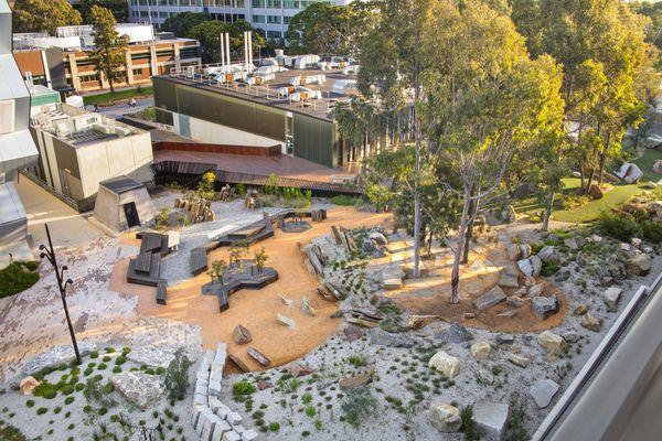 Earth Sciences Garden by Rush Wright Associates.