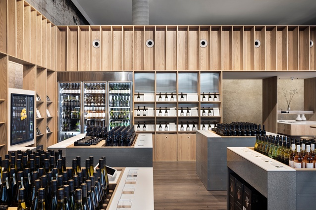 Handpicked Wines Cellar Door by DesignOffice, shortlisted for Best Retail Design.